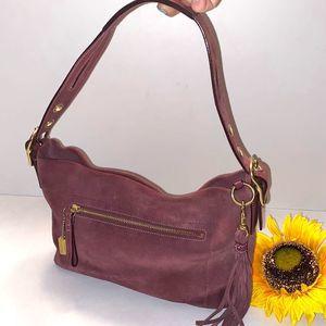 Coach East West Legacy Tassel Slouch Bag 1421